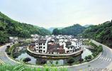 中國最圓的村落,深藏青山綠水間,攝影人打卡攪亂了清靜