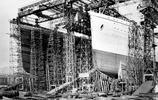 泰坦尼克號正在建造時的場景,罕見老照片,神之船永遠沉在海底了