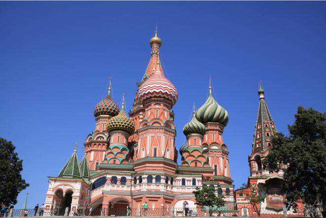 風景圖集:莫斯瓦西里大教堂風景美圖