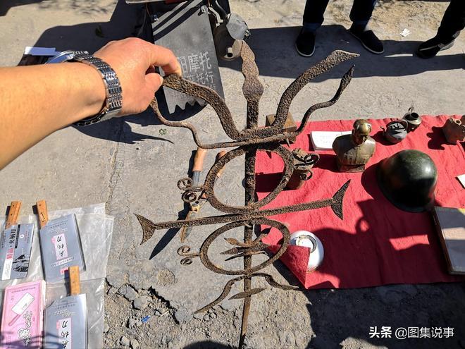 豫北農村大集9樣老物件,農村人也認不全,一個小刀難住了很多人