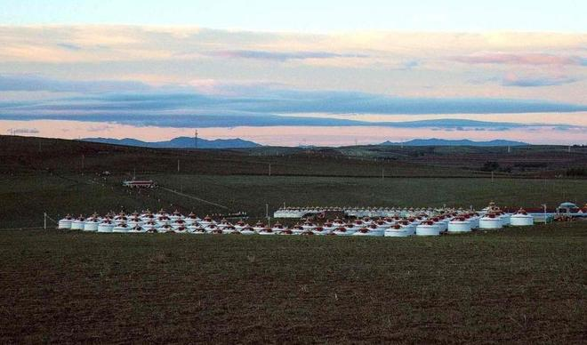 行走的房子——蒙古包