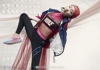 周冬雨Nike宣傳照,造型一言難盡!網友:對不起,打擾了!