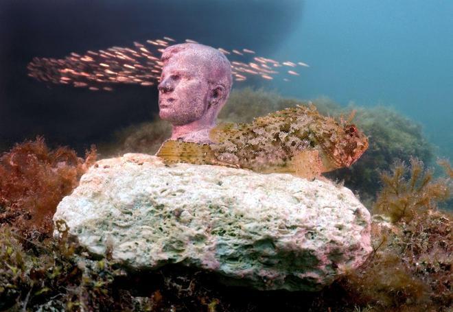 水下的博物館 比較驚悚