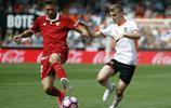足球——西甲聯賽:巴倫西亞戰平塞維利亞