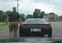 交警在查車時會摸一下車屁股,是幾個意思?
