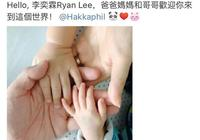 胡杏兒二胎產子,一家四口手握手,網友調侃黃宗澤沒眼光