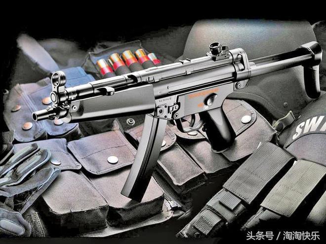 "MP5衝鋒槍,衝鋒槍中的""霸王"""