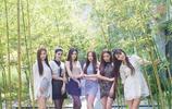 清新自然的校園風姐妹團,每一個都顏值出眾,網友:仙女下凡了?