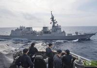 日本DD116驅逐艦抵達南海