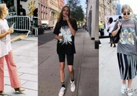 夏季穿搭一件大T-Shirt就夠了!靠這3招穿出網美街拍感