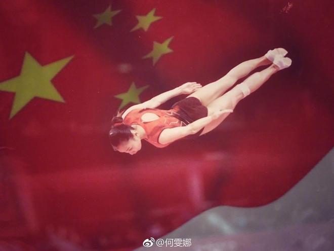 蹦床第一女神何雯娜微博晒生活美照,香汗淋漓身材性感熱辣!