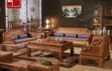 布藝沙發已經過時了,純正的紅木沙發今年最流行,秒殺千萬別墅