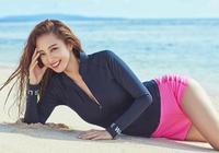 韓國女藝人韓藝瑟關島拍代言品牌宣傳照