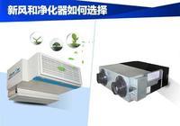 新風和空氣淨化器如何選擇?