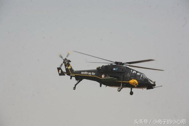 印度一款超重的武裝直升機 和武直十根本沒法比