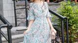 在這個愛美的時代,碎花裙才更適合你夏天穿,顏值輕鬆翻了好幾倍