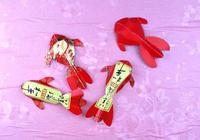 1個紅包折兩條錦鯉,寓意年年有餘,做法超級簡單,手工摺紙