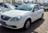 別克凱越,俊逸的白色車型,超低油耗,高性價比