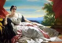中國美女一點也不輸西方美女,自然中國油畫也不輸西方油畫