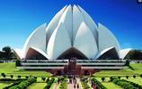 印度獨一無二的建築,如蓮花般盛開,成千上萬人來接受洗禮