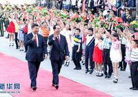 習近平同越南國家主席陳大光舉行會談