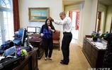 奧巴馬溫情的一幕