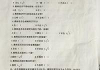 東風小學開展師德師風學生家長調查問卷活動