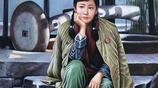 描繪革命紅軍女兵英姿颯爽的精品油畫作品欣賞