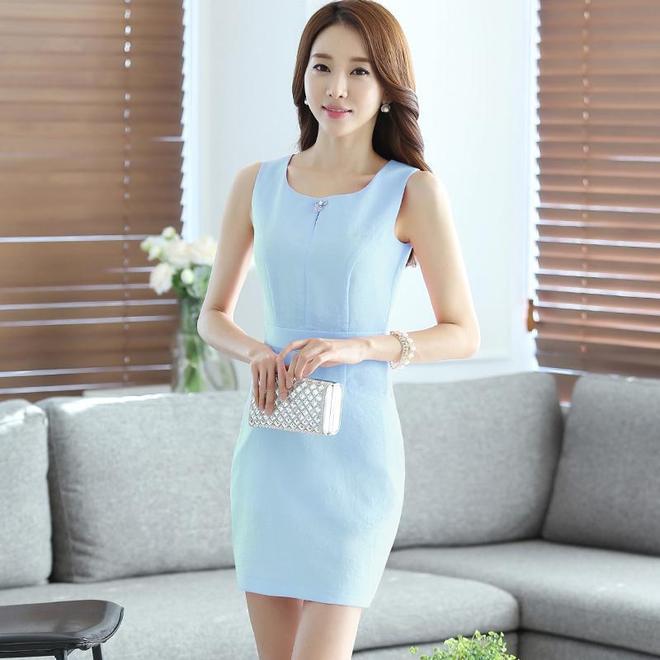 職業裙,成熟女性的最愛,輕奢連衣裙穿出好氣質