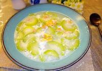 乾貝鹹蛋節瓜湯