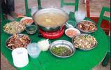 農村的宴會,熟悉的味道