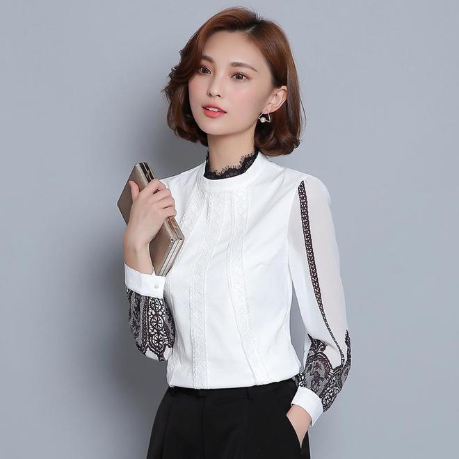 現在的雪紡衫也太時尚了吧,展現你的高貴與優雅,百搭又減齡