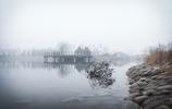 誰說霧霾天不可以很美?天津科大取景帶您感受別樣的朦朧之美