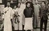 民國老照片:圖2魯迅和周作人合影,表情很無奈,圖4兩人很般配