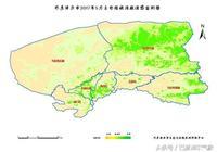遙感監測:牧區東部牧草長勢好 套區中西部農作物長勢較好