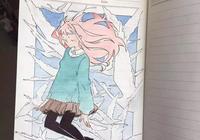 看了大觸畫師的筆記本太有材的手繪,感覺自己的本子都被浪費了