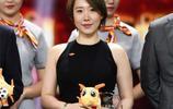 文筱婷代表貴州恆豐足球俱樂部領取中超公平競賽獎