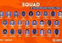 荷蘭隊大名單:利物浦支柱+阿賈克斯雙星 歐國聯核心陣容仍在