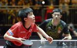 2017世乒賽男單1/4決賽 許昕輕取13歲日本小將