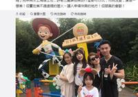 小S一家上海遊迪士尼 晒老公合影秀恩愛 真的幸福嗎?