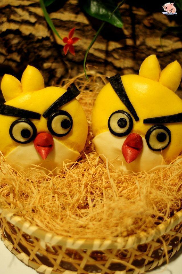 憤怒的小鳥饅頭