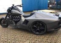 變態級三輪豪車:BOSS HOSS車頭+科爾維特V8動力+蘭博基尼車身