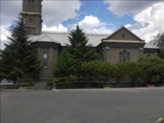 長春天主教堂——長春現存的老建築之一
