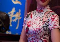 旗袍:古典旗袍美眉