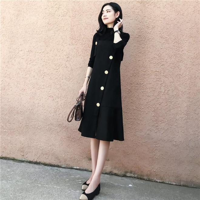女人再胖,也別老穿黑褲子!出門穿這大碼女裝,顯瘦保暖又添美