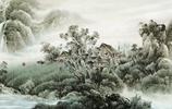 巴蜀風光山水國畫——黃玉洲作品