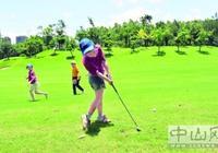 青少年高爾夫球錦標賽昨日開賽
