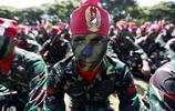 印度尼西亞班達亞齊舉行的印度尼西亞軍事週年慶祝活動