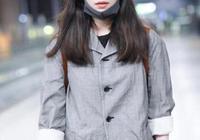 倪妮 上海機場街拍,日系搭配真的太好看了,漁夫帽是重點