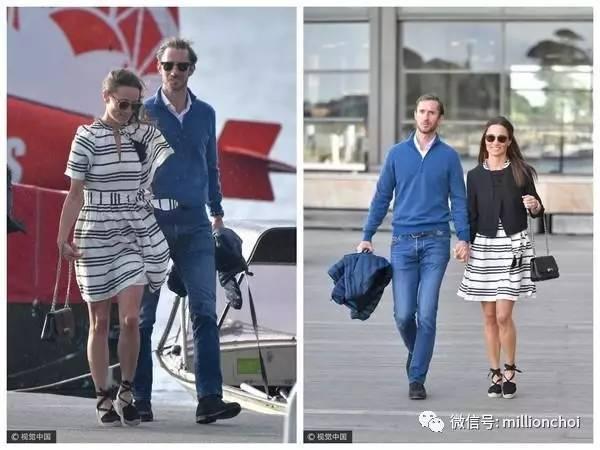 跟著凱特王妃妹妹皮帕度貴族蜜月,一百萬住酒店兩千元穿度假裝